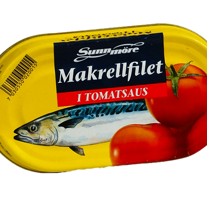 Fish - Mackerel in Tomato Sauce