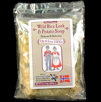 Soup - Wild Rice, Leek & Potato