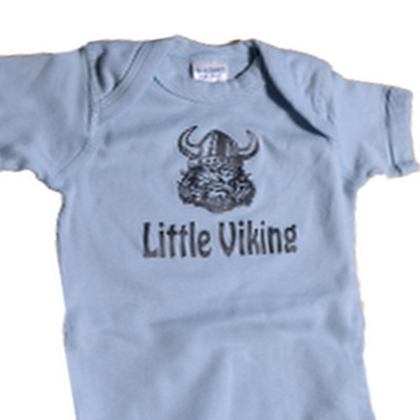 "Onesie - ""Little Viking"""