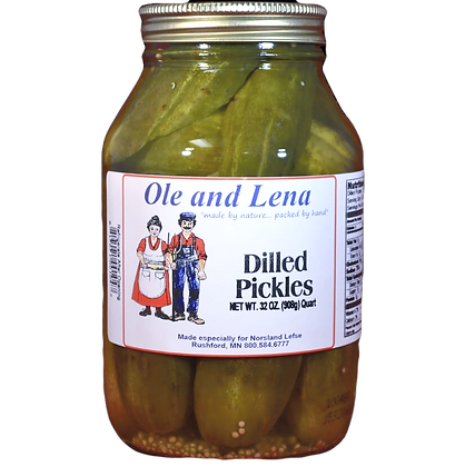 Pickles - Dilled Pickles