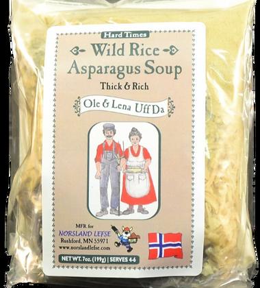Soup - Creamy Wild Rice Asparagus