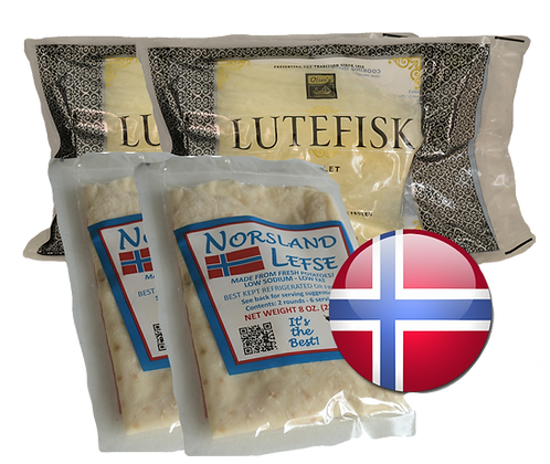 Lefse & Lutefisk - Dinner for 4