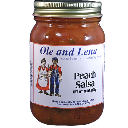 Salsa - Peach (Medium Hot)