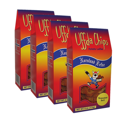 Uffda! Chips - 4-Pack Combo (6oz each)