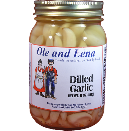 Pickles - Dilled Garlic