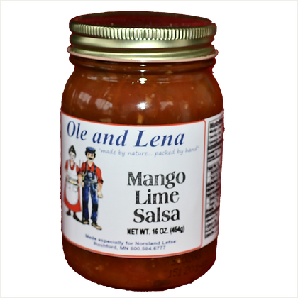 Salsa - Mango Lime (Medium Hot)