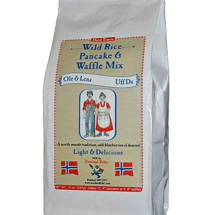 Wild Rice Pancake Mix