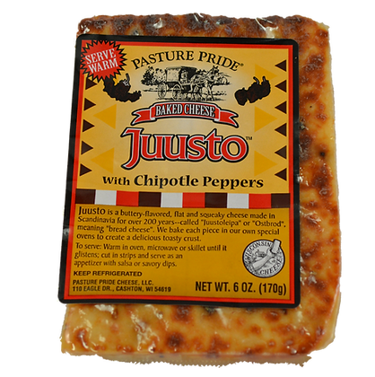Cheese -  Juusto Baked Cheese with Chipotle Peppers