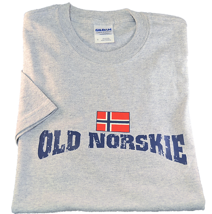 """T-Shirt - """"Old Norskie"""" (Adult)"""