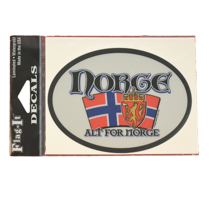 Decal - Norge (Alt for Norge)