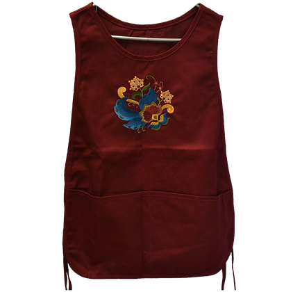 Apron - Smock Style, Embroidered