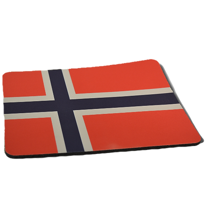 Mouse Pad - Norwegian Flag