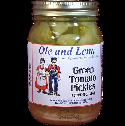 Pickles - Green Tomato Pickles