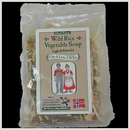 Soup - Wild Rice Vegetable