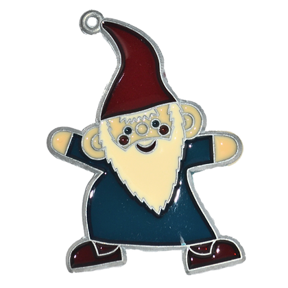 Suncatcher - Blue Gnome