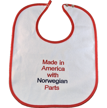 "Bib - ""Made in America..."""