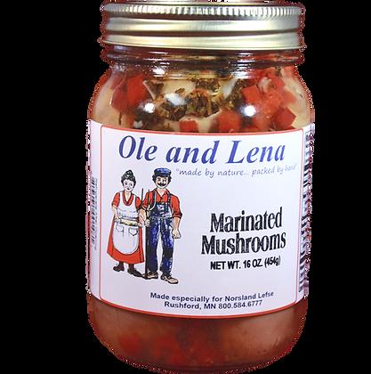 Pickles - Marinated Mushrooms