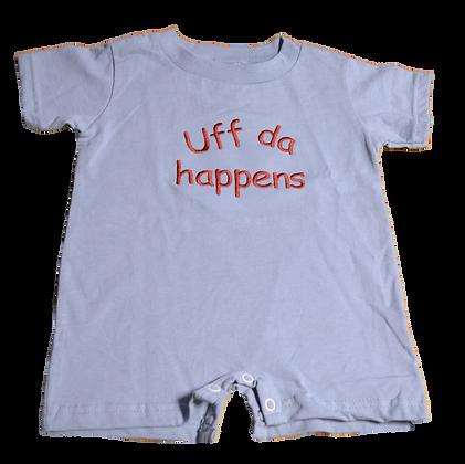 "Onesie - ""Uff da Happens"" T-Shirt Style"