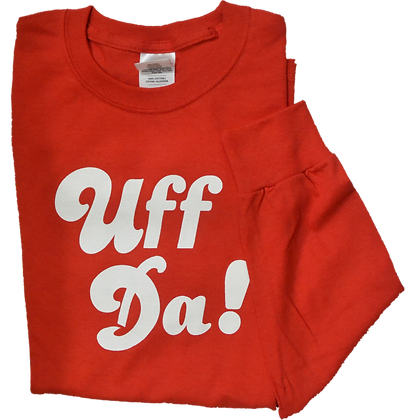 "T-Shirt ""Uff Da!"" (Adult, LS)"