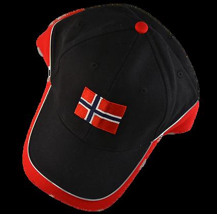 Cap - Norwegian Flag (Adult)