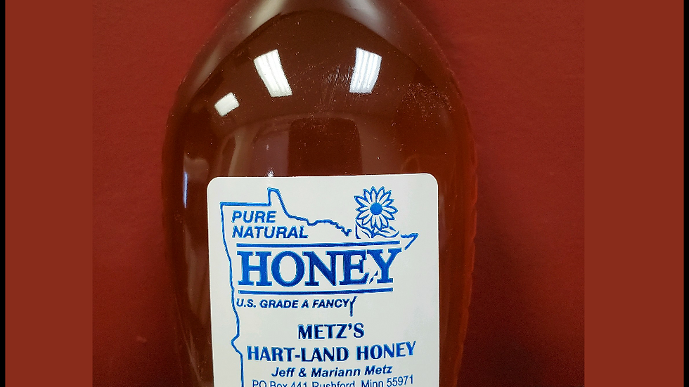 Processed Honey in 3 sizes