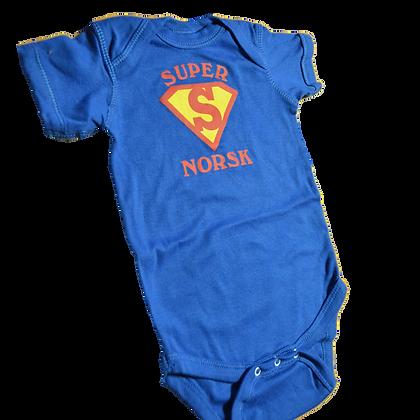 "Onesie - ""Super Norsk"""