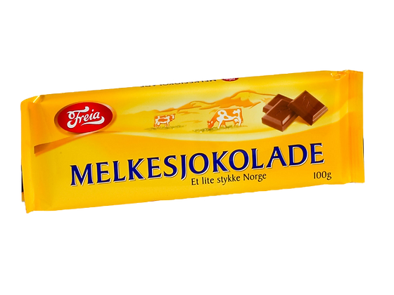 Freia Fir Klover Chocolate Bar