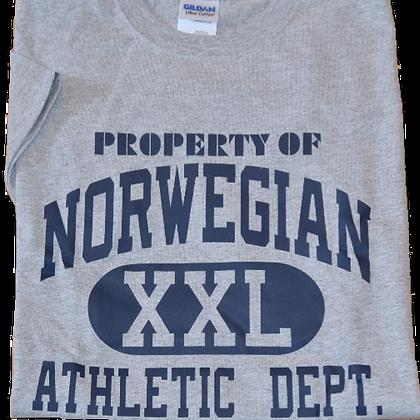 "T-Shirt - ""Property of Norwegian XXL ..."" (Youth)"