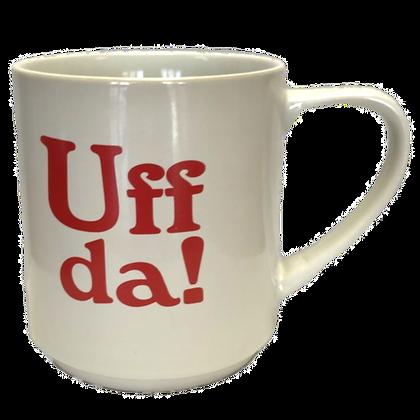 """Mug - Giant """"Uff da!"""" (21 oz)"""