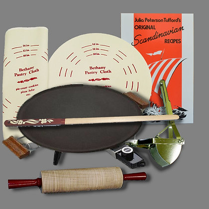 Lefse Starter Kit - Silvertone