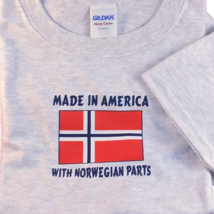 "T-Shirt - ""Made in America...""(Youth)"