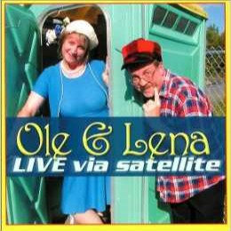 "Book - ""Ole & Lena, Live Via Satellite"""