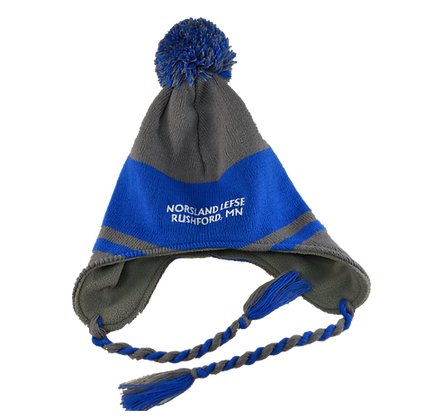 Stocking Cap - Norsland Lefse Logo Knit