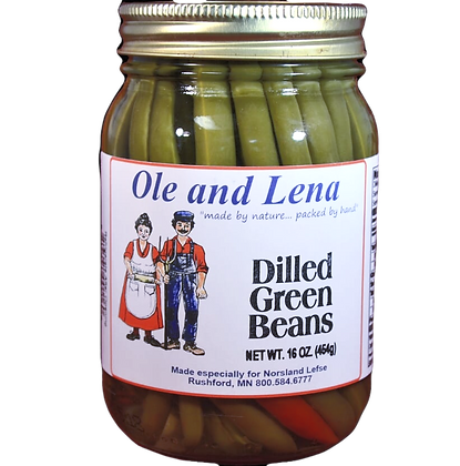 Pickles - Dilled Green Beans