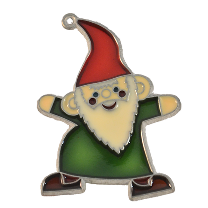 Suncatcher - Green Gnome