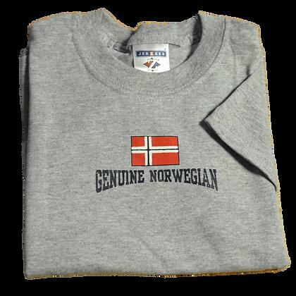 """T-Shirt - """"Genuine Norwegian"""" (Youth)"""