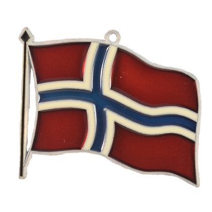 Suncatcher - Norway Flag
