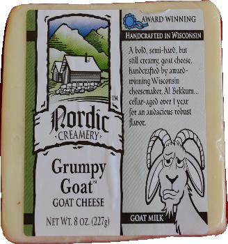 "Cheese - ""Grumpy Goat"" Goat Cheese"