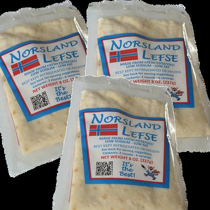 Norsland Lefse - 3 Pkgs.