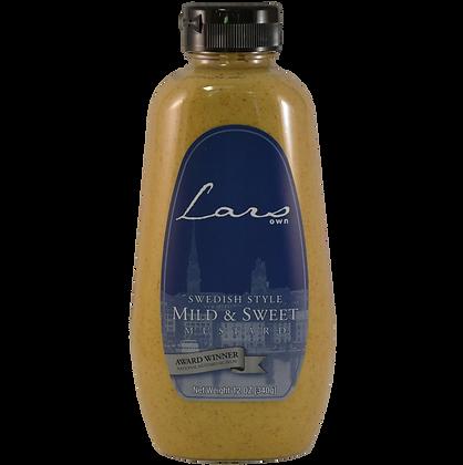 Sauce - Lars Own Mild & Sweet Swedish Mustard