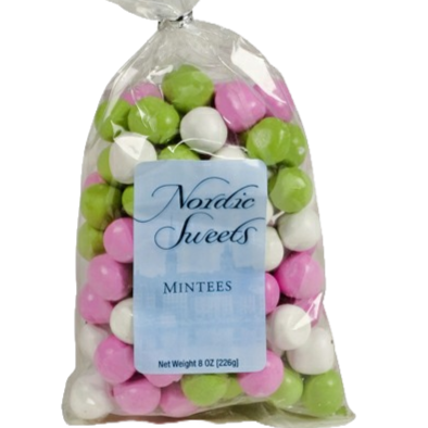 Mintees Chocolate Mint Creams by Nordic Sweets