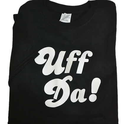 "T-Shirt - ""Uff Da!"" (Youth)"