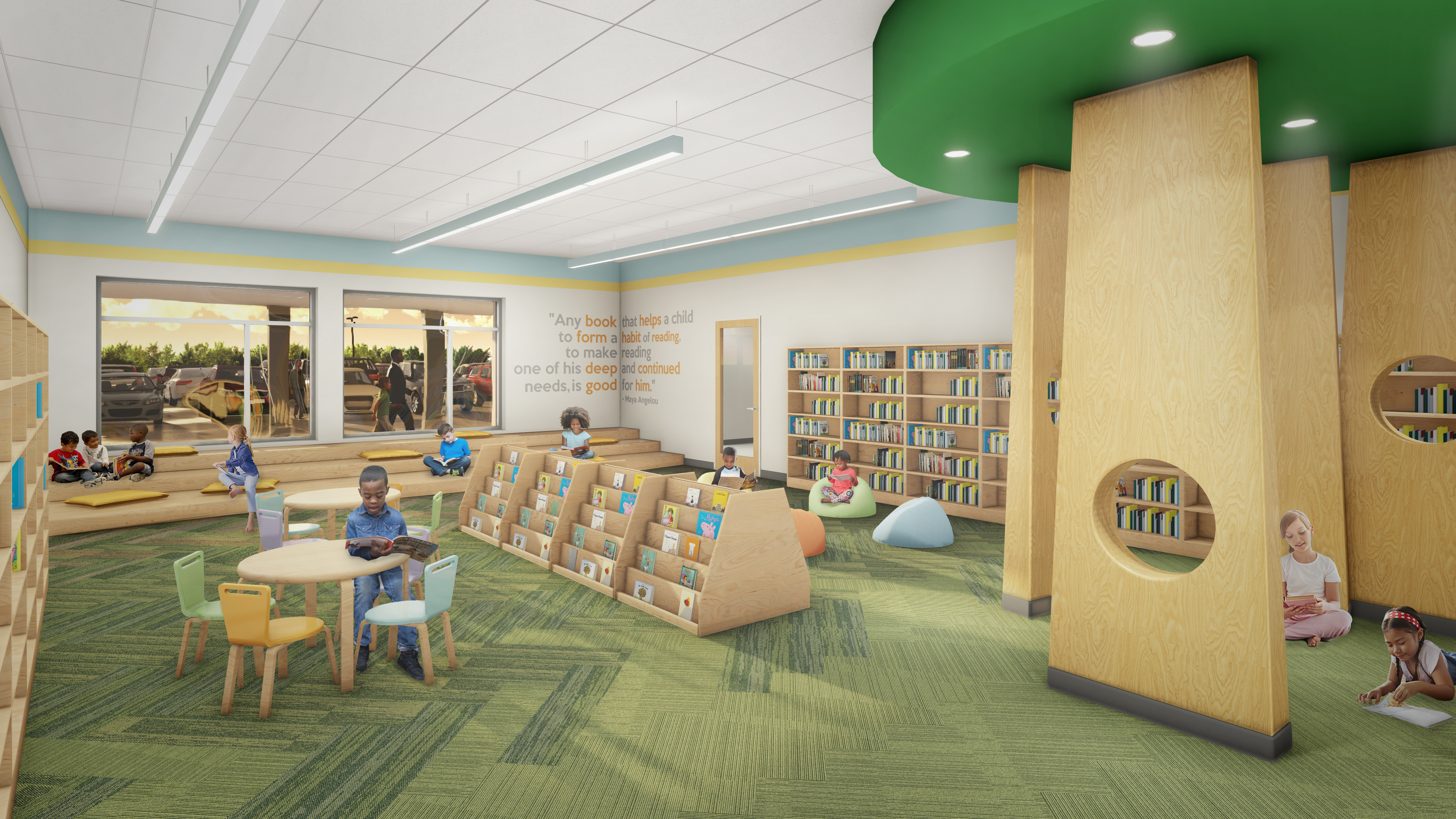 Elementary Library NO LOGO