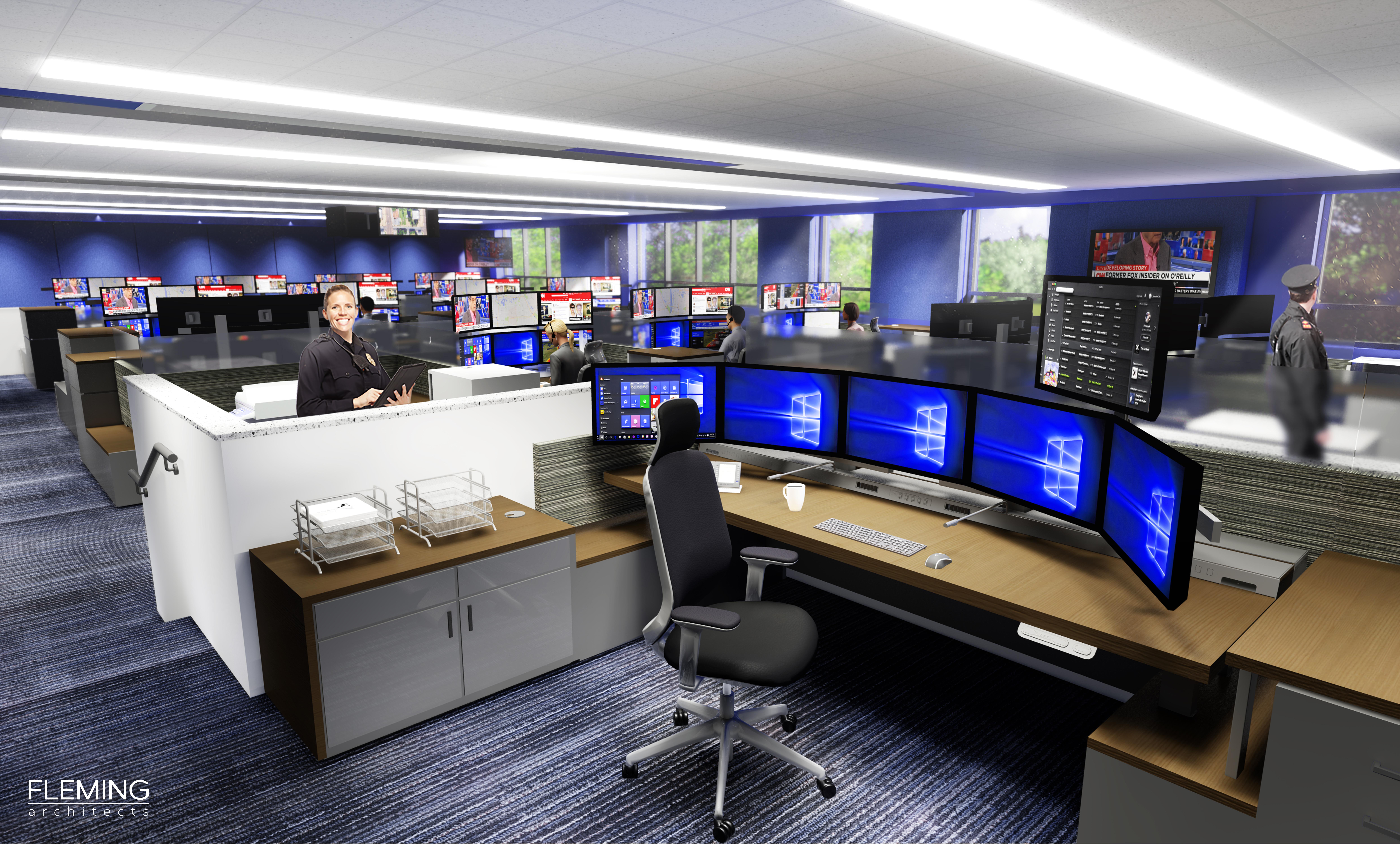 911 Backup - Fleming Architects