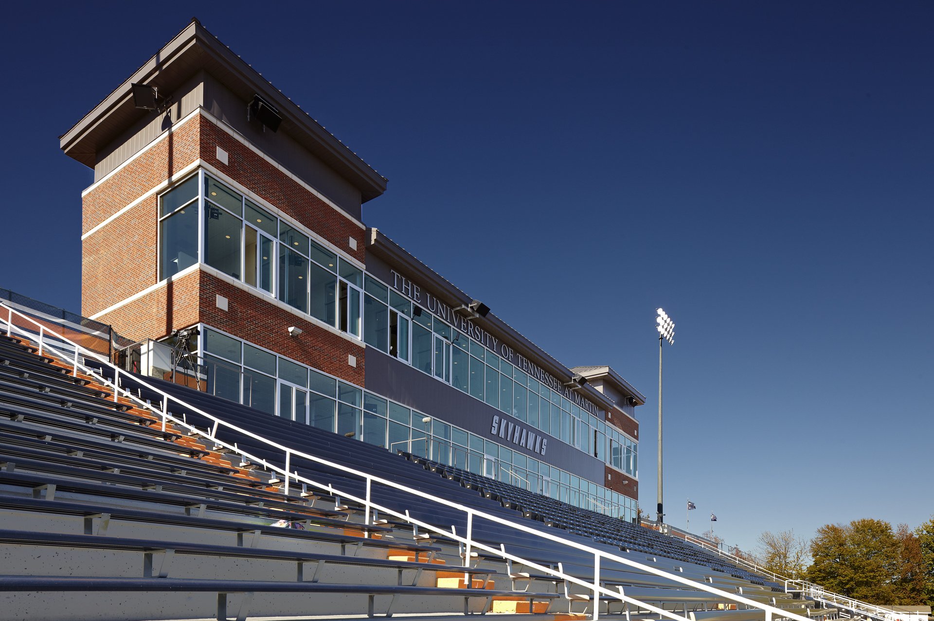 UT Martin Press Box - Fleming