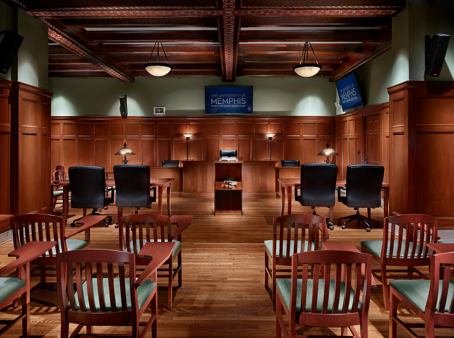 UofM Law School Courtroom