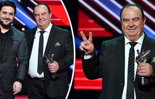 اللبناني عبدو ياغي يتوج بلقب أفضل صوت في برنامج ذا فويس سينيور