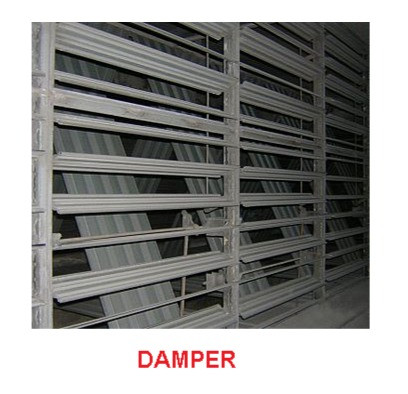 WHAT ARE DAMPER AND LOUVERS?