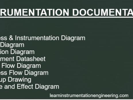 Eight types of Instrumentation Documentation