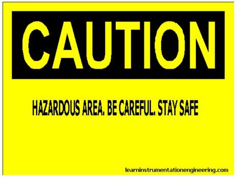 Classification of Hazardous Area (North America standard)